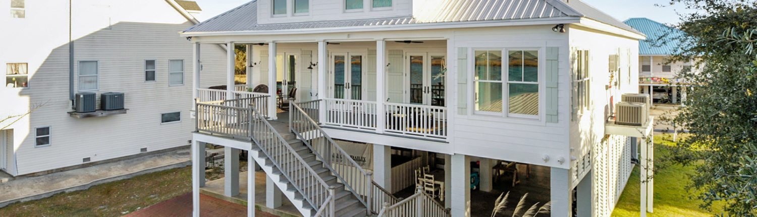 General Contractor in Bay St. Louis, Gulfport and Biloxi Mississippi Construction and Design - Exterior View