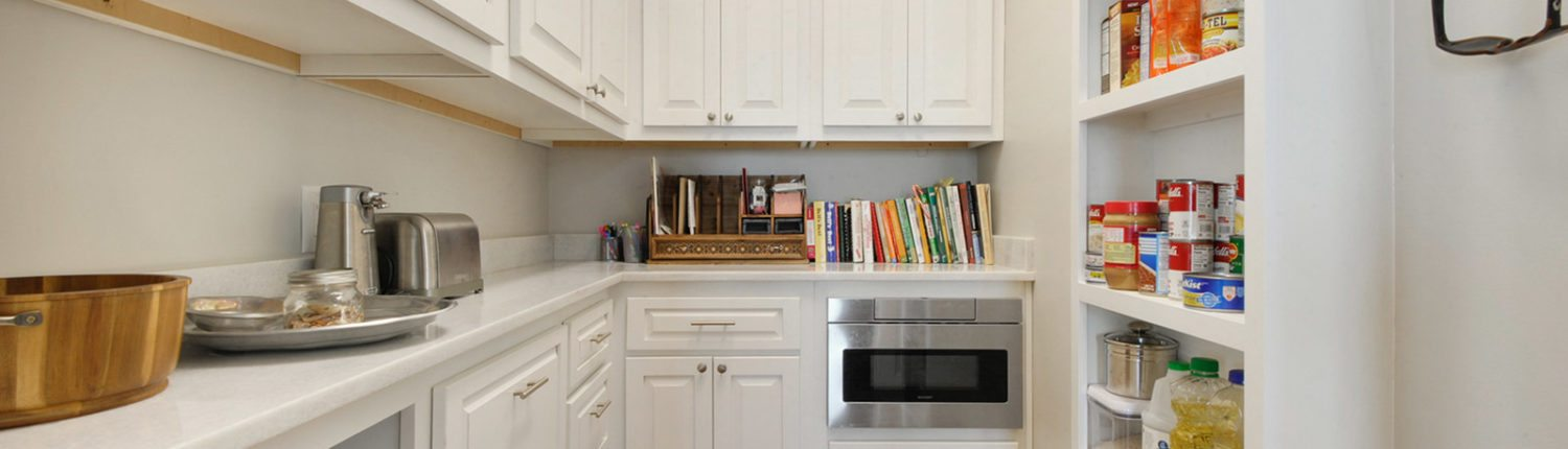 Mississippi Gulf Coast Home Construction Kitchen Pantry