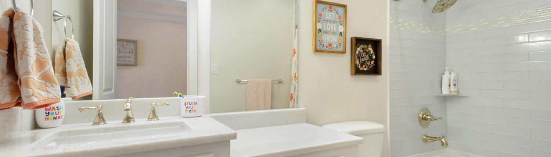 Biloxi, Mississippi Area Construction Guest Bathroom Design