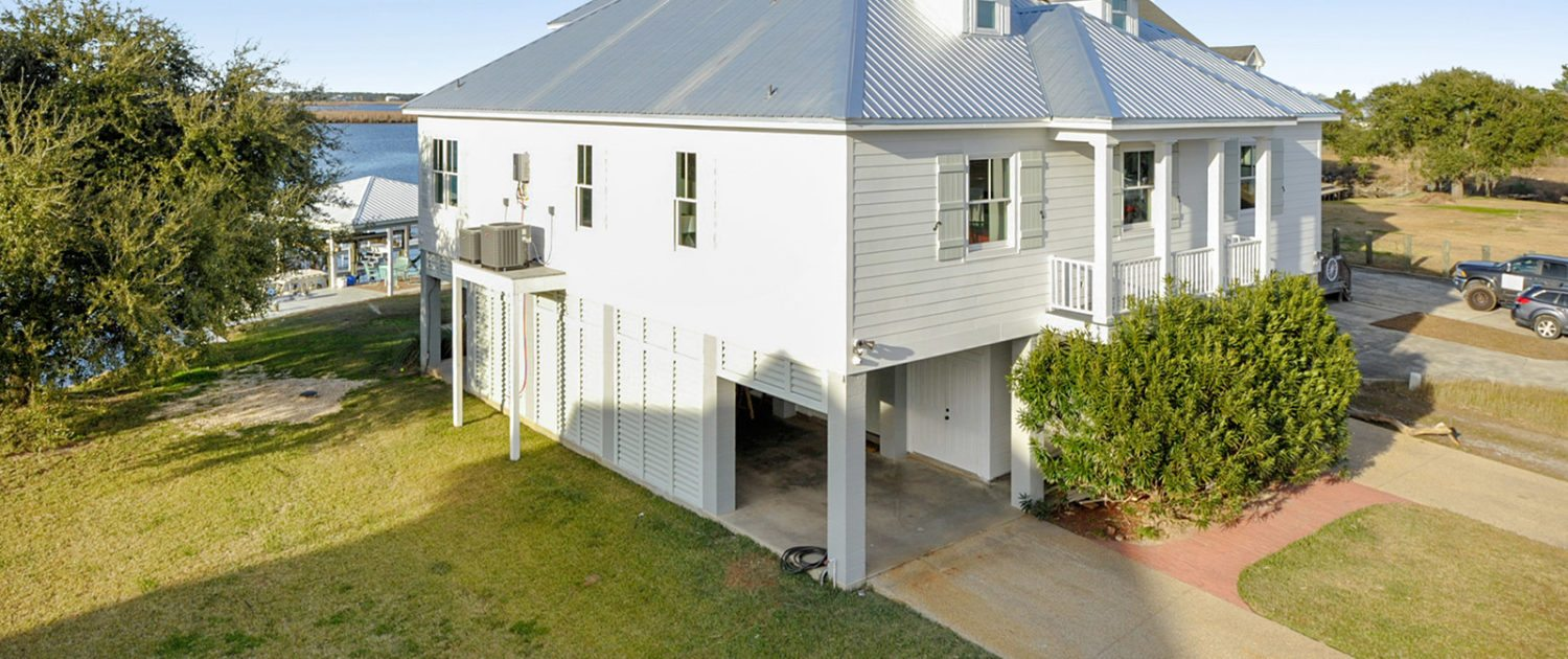 Mississippi Gulf Coast Home Construction Exterior View