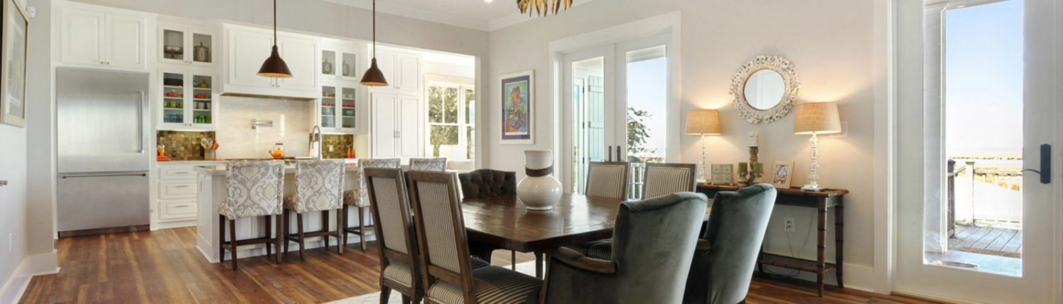 General Contractor in Bay St. Louis, Gulfport and Biloxi Mississippi Dining Room Construction and Design