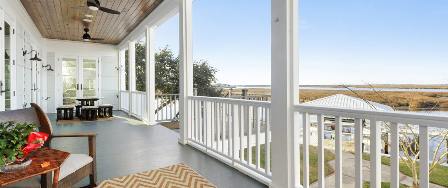 Bay St. Louis Mississippi General Contractor Porch View